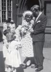 Lorna Rainbow and Bob Arnold's wedding