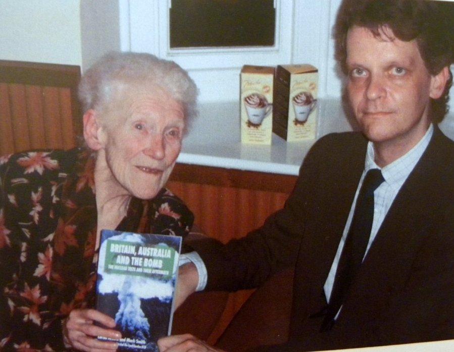 Lorna Arnold and Mark Smith