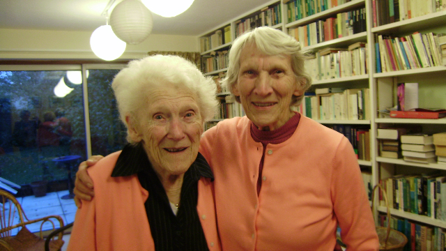 Lorna Arnold and Ruth Smith